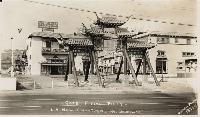 Chinatown's Gate of Maternal Virtues