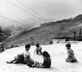 Children playing on hills, Chavez Ravine, by Don Normark reproduced by the Los Angeles Public Library photo archive.