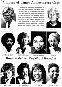 Los Angeles Times Women of the Year, 1976