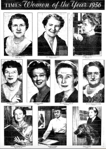 Los Angeles Times Women of the Year, 1956